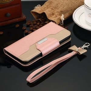 Leather Wallet Case Samsung Galaxy Shockproof